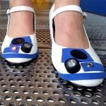 Chaussures à talons R2D2