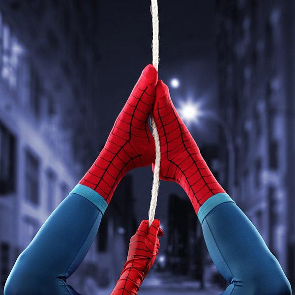 chaussette-spiderman