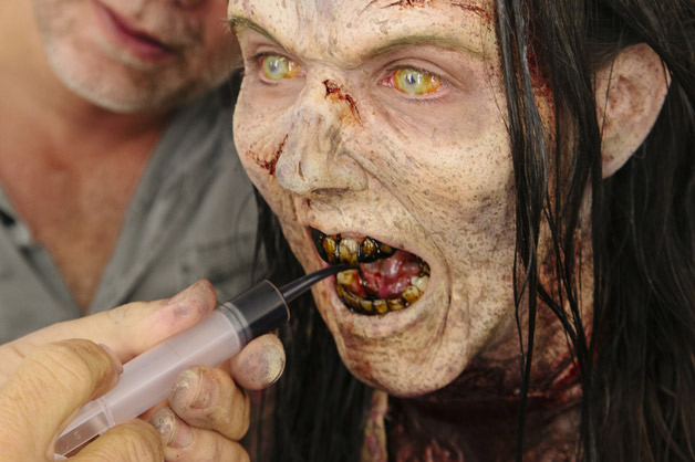 les étapes de transformation des zombies de the walking dead - geek