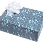 Papier cadeau Minecraft