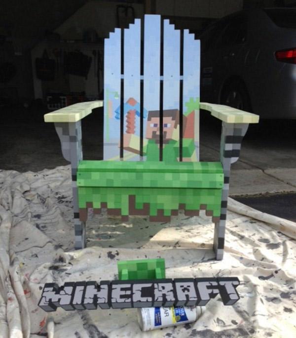 chaise-minecraft