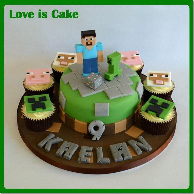 Recette Minecraft Cake