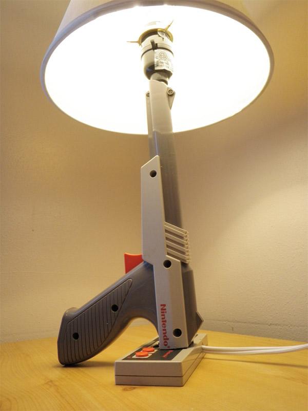2 lampes de gamer Geek Idee deco Lampe Geek