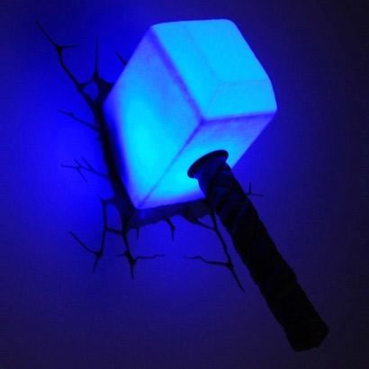 Lampe Thor Geek Idee Deco Lampe Geek