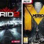 Concours pour gagner Grid 2 ou Metro Last Light