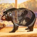 L'ours ventilateur