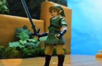 Zelda en stop motion
