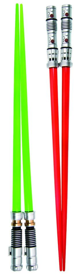 Baguette star wars geek star wars - Comment tenir des baguettes chinoises ...