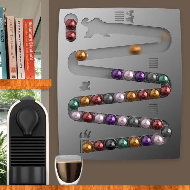 Distributeur capsule nespresso pour gamer geek - Distributeur de capsules ...