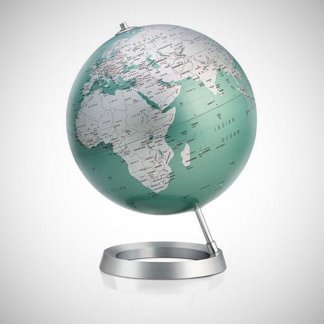 globe terrestre design geek