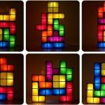 Lampe Tetris pour les amateurs de briques