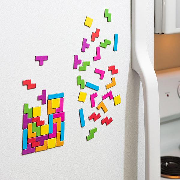 magnet de frigo tetris gaming geek. Black Bedroom Furniture Sets. Home Design Ideas