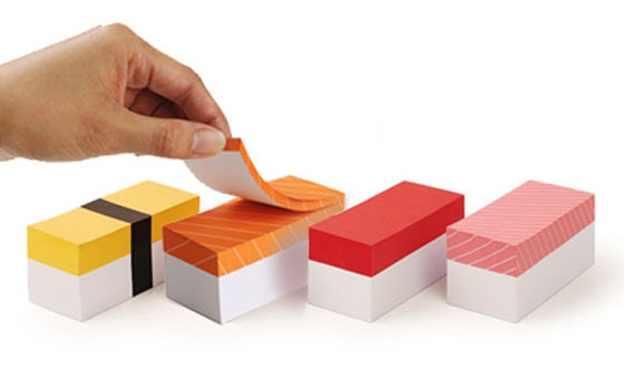 blocs-notes-sushi