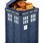Boîte à gâteaux Tardis Doctor Who