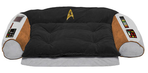 coussin pour chien star trek geek. Black Bedroom Furniture Sets. Home Design Ideas