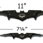 Couteau Batarang Batman Dark Knight