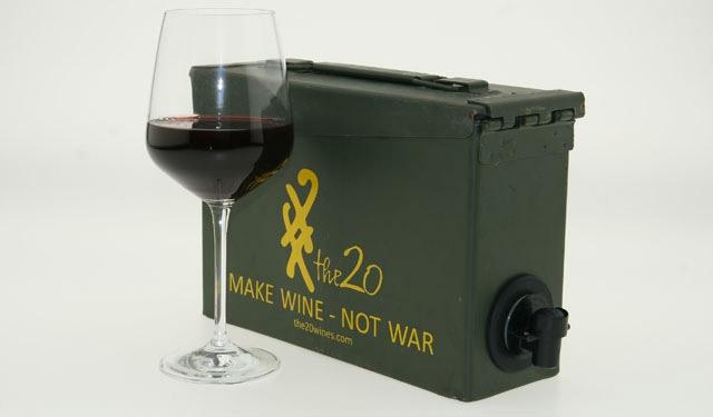 cubi de vin mallette de munitions geek. Black Bedroom Furniture Sets. Home Design Ideas