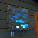 Tuto pour créer une lampe minerai de diamant Minecraft