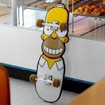 Skate Homer Simpson