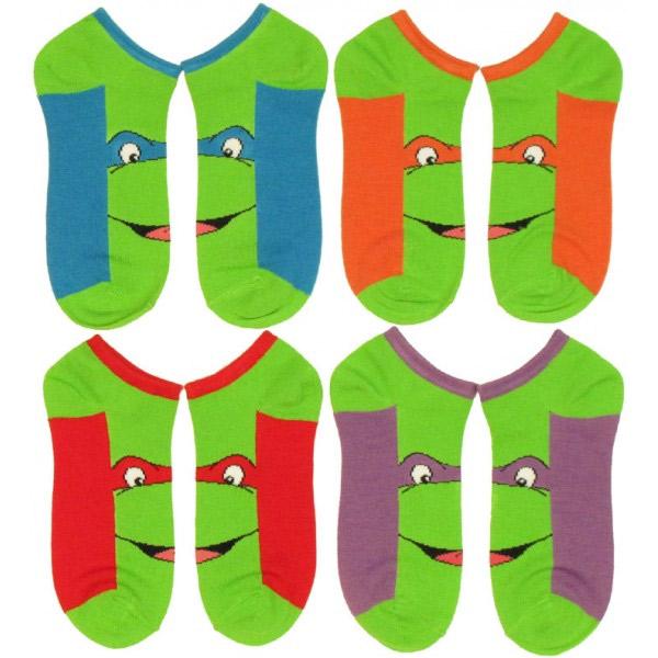 Socquettes tortues ninja geek - Tortue ninja noms ...