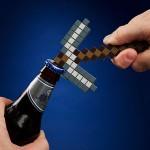 Ouvre bouteille pioche Minecraft