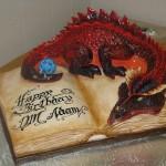 Gâteau Donjon et Dragon