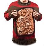 Un pull horrible pour Halloween