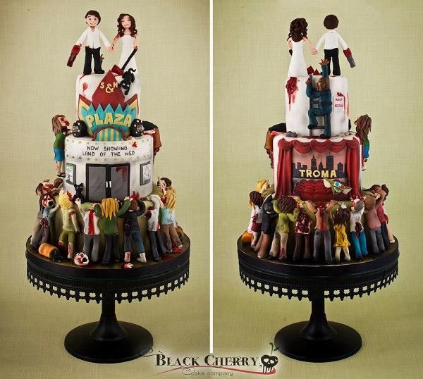 ... de zombies mais de la à faire ce genre de gâteau il y a un cap