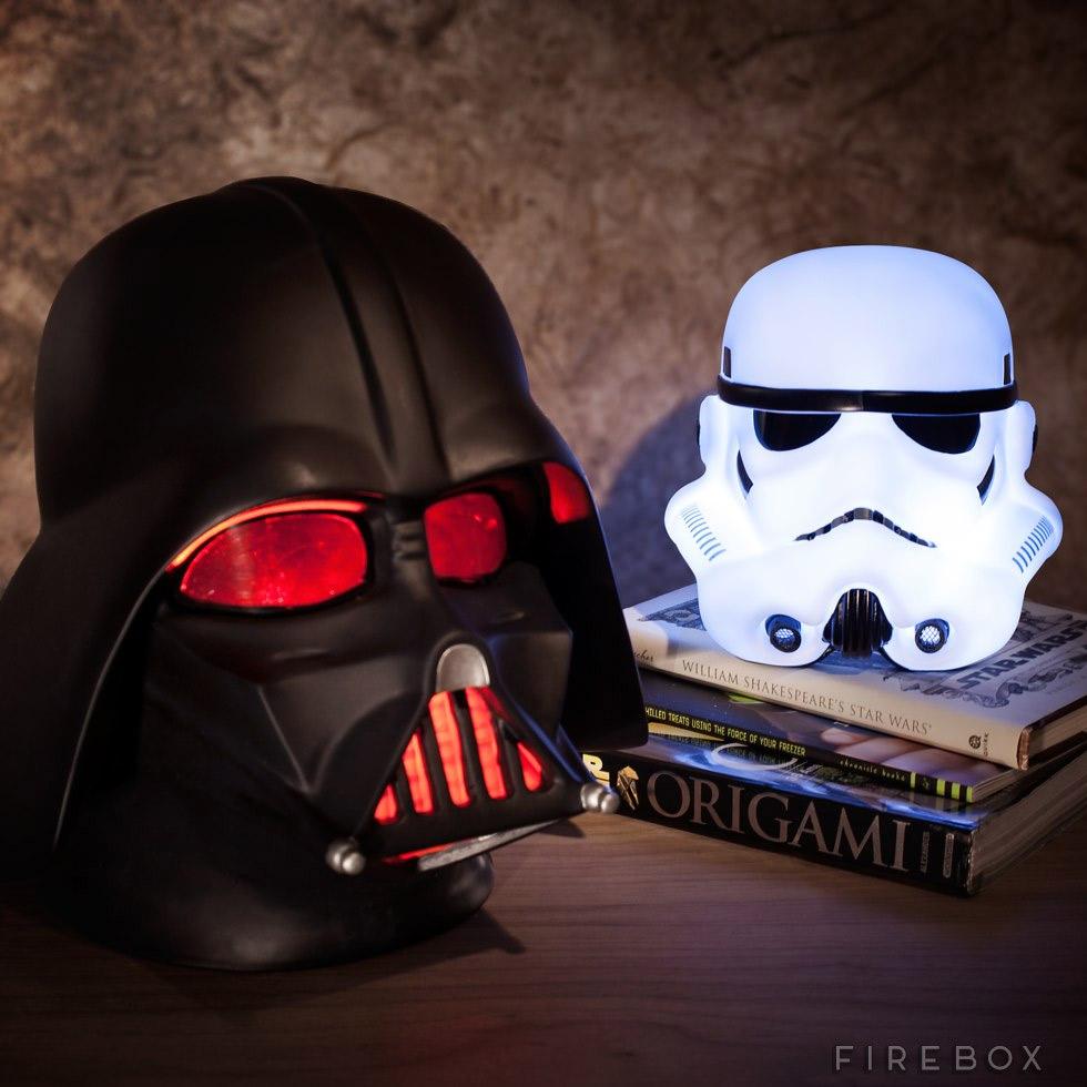 lampe star wars geek idee deco star wars. Black Bedroom Furniture Sets. Home Design Ideas