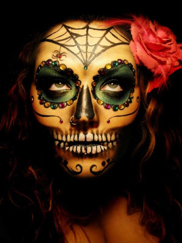 Le meilleur du maquillage d 39 halloween geek halloween - Image de maquillage d halloween ...