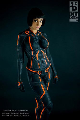 Body Painting Sexy De Tron 317 Cosplay Sexy Du Jour