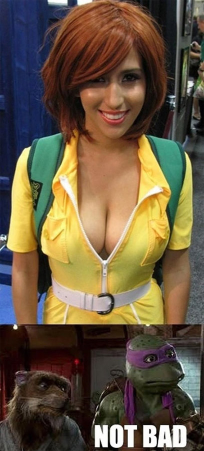 April oneil cosplay