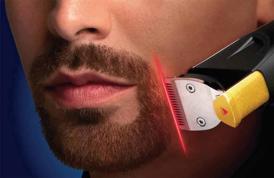 guide laser pour se tailler la barbe geek. Black Bedroom Furniture Sets. Home Design Ideas