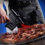 Laser tactique pour découper les pizzas