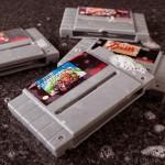 Savon cartouche Super Nintendo