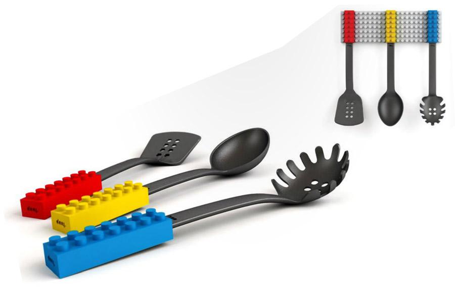 Ustensiles de cuisine manche lego geek - Ustensile de cuisine en p ...