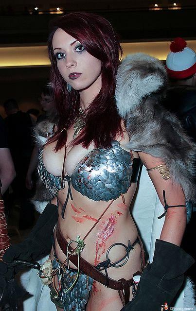 Joli cosplay de Red Sonja