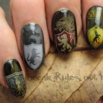 Nail Art Game Of Thrones