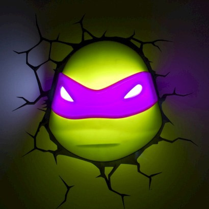 Veilleuse tortue ninja geek - Lampe chauffante tortue ...