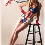 Cosplay sexy de Captain America