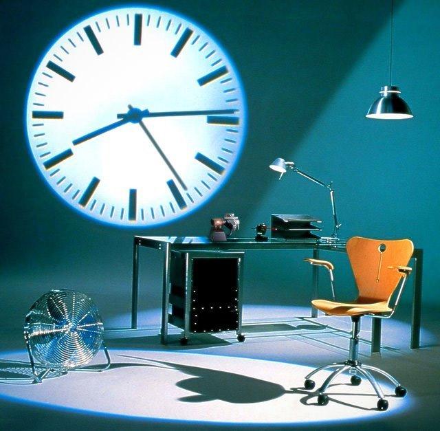 Projecteur d'heure
