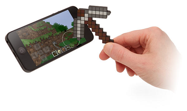 Stylet pioche Minecraft