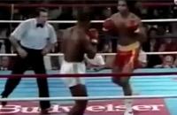 Combats de Mike Tyson avec les sons de Street Fighter