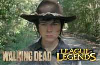Carl de «The Walking Dead» joue à League of Legends