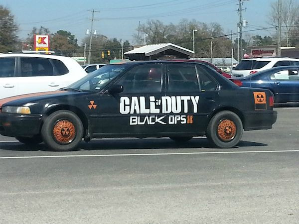 Voiture Call Of Duty