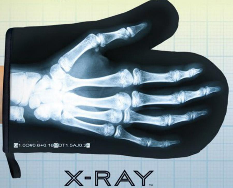 Gant de cuisine rayons X
