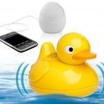 iDuck : haut parleur canard qui flotte