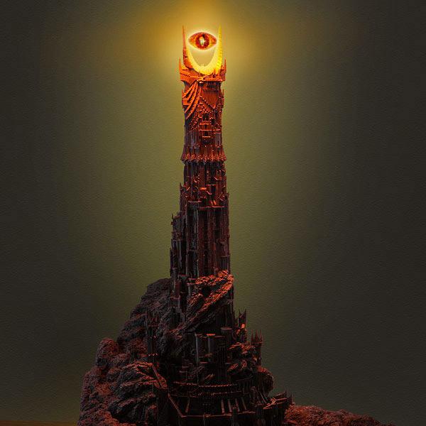 Lampe oeil de Sauron
