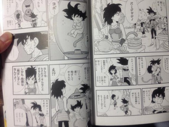 Qui est la maman de Sangoku ?