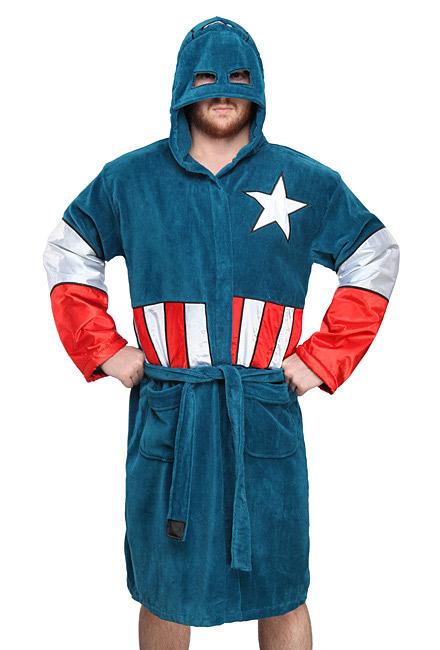 Peignoir Captain America